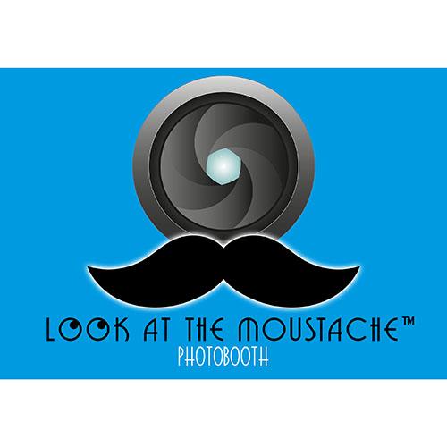 logo lookAtthe Moustache